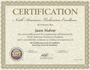 Certification for Northern Air