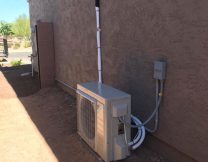 Single multi zone AC system install in San Tan Valley AZ
