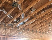 Attic duct work install, Gilbert AZ