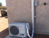 Pioneer single zone AC install in San Tan Valley Arizona